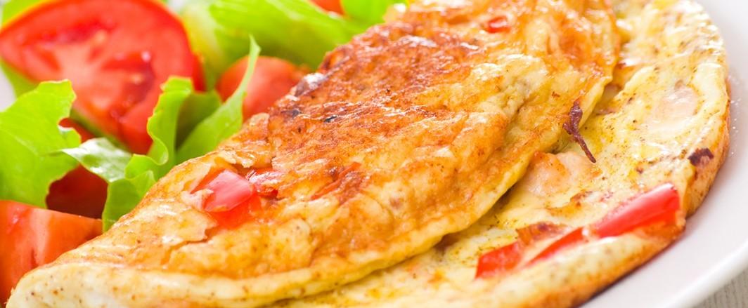 Omelette-Tomato
