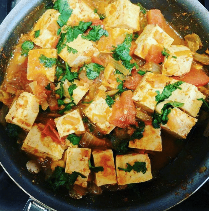 Vegan Tofu Con Carne Recipe