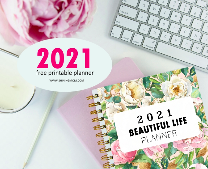 The Best 2021 Free Printable Planners image