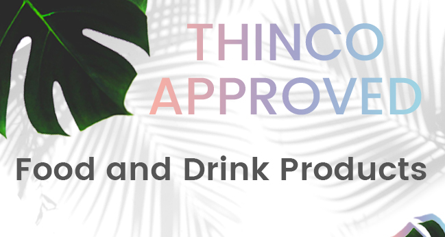 Thinco approved food and drinks