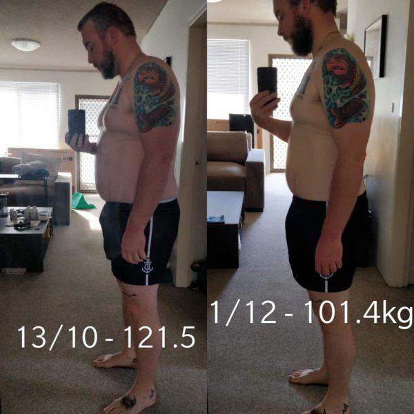 Thinco review BOYFRIEND lost 20kg B