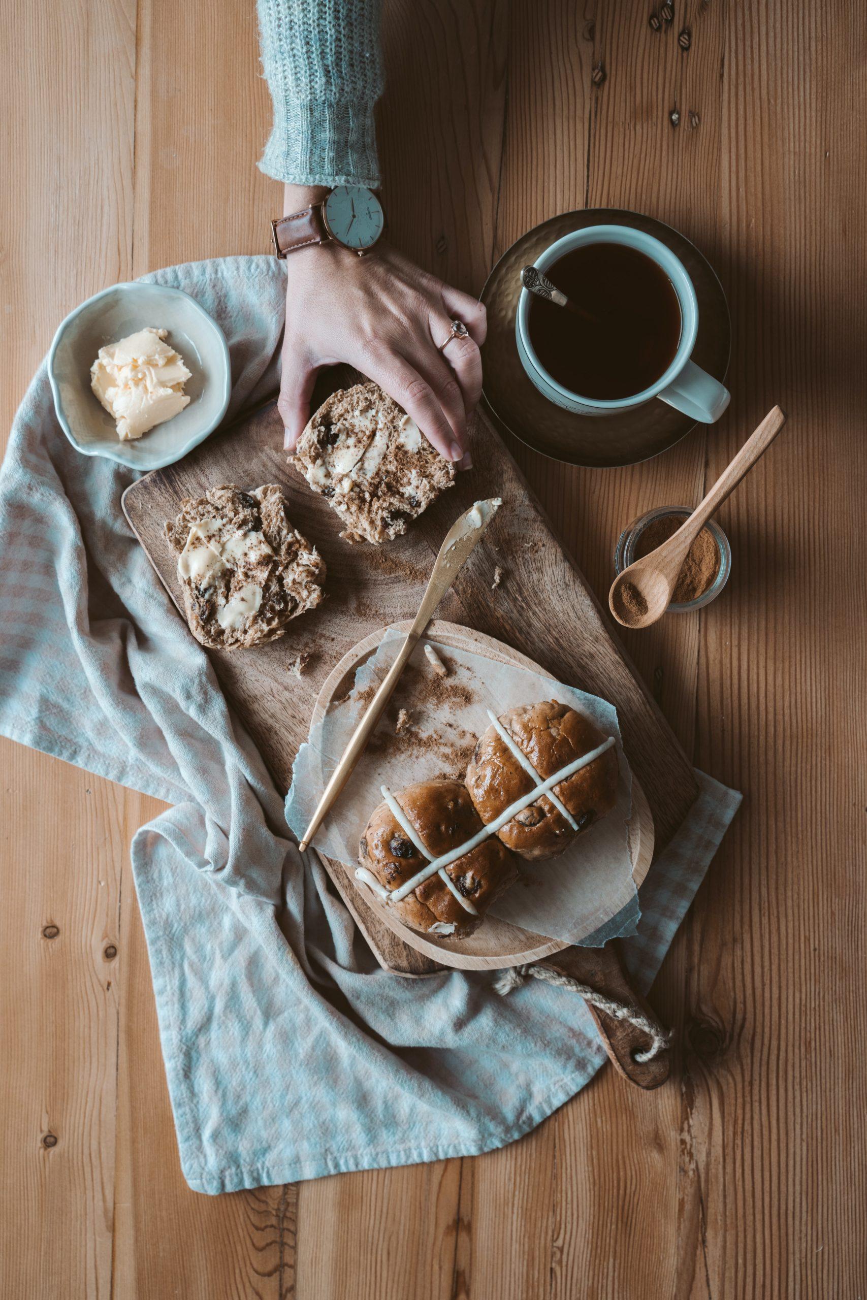 Healthy Cross Bun recipe Thinco Weight Loss