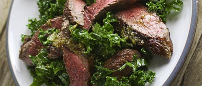 steak kale